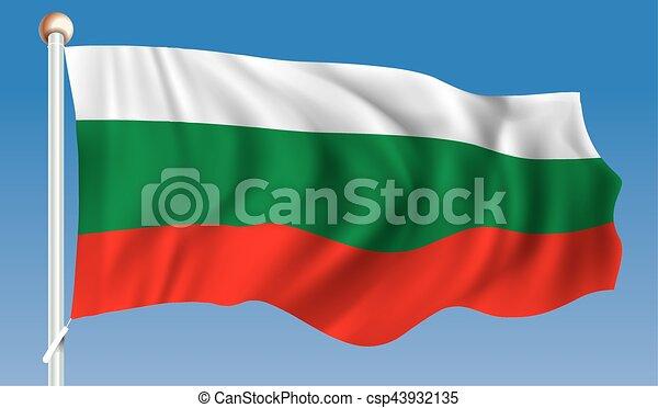 Flag of Bulgaria - csp43932135