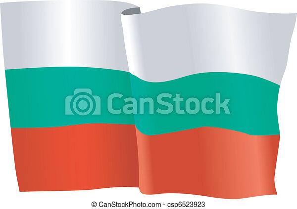 flag of Bulgaria - csp6523923