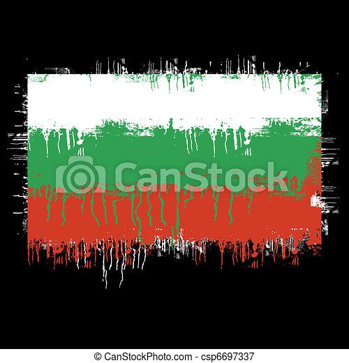 flag of Bulgaria - csp6697337