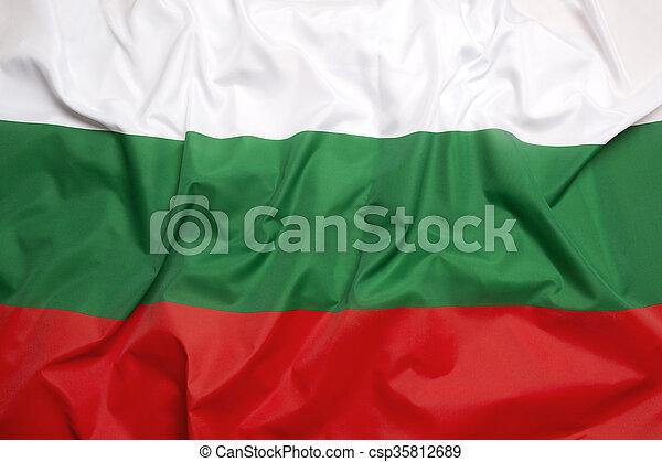 Flag of Bulgaria - csp35812689