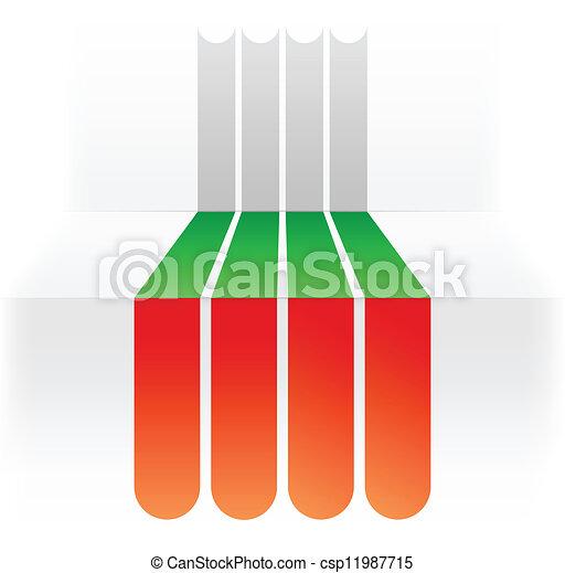 flag of Bulgaria - csp11987715