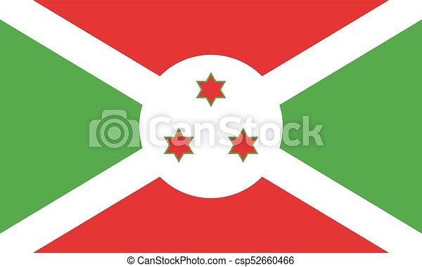 Flag of Burundi - csp52660466