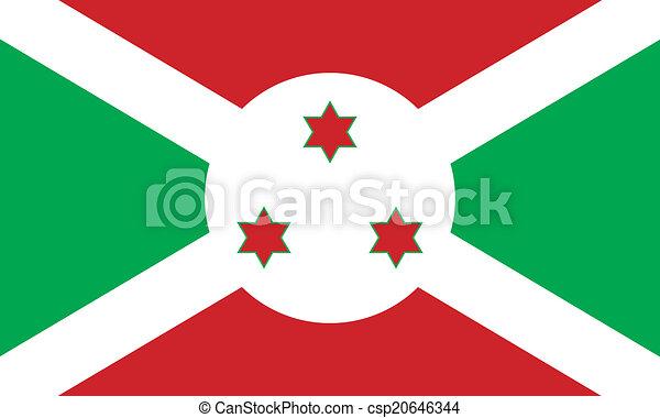 Flag of Burundi - csp20646344
