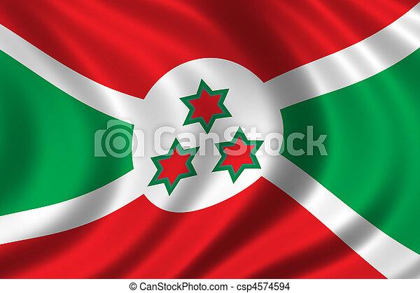 Flag of Burundi - csp4574594