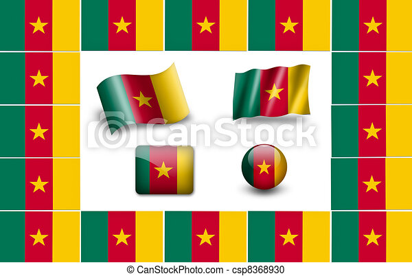 Flag of Cameroon - csp8368930