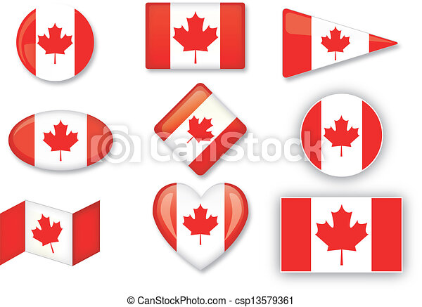flag of Canada - csp13579361