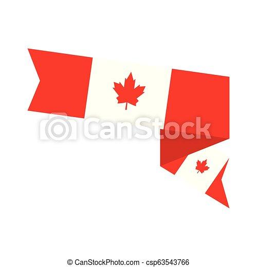 Flag of Canada - csp63543766