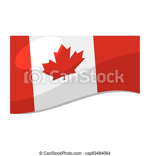 Flag of Canada - csp83484064