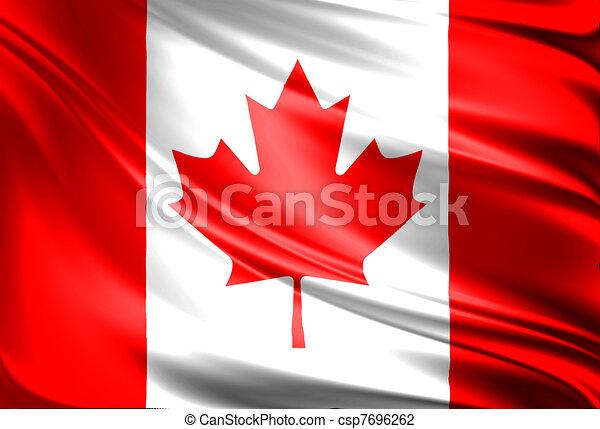 Flag of Canada - csp7696262