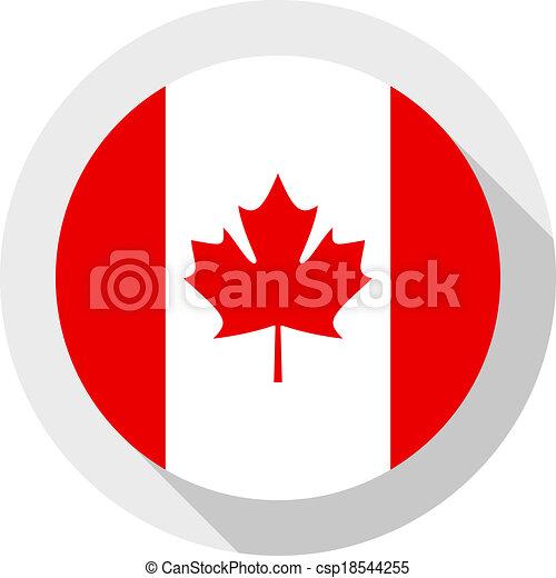 Flag of Canada - csp18544255