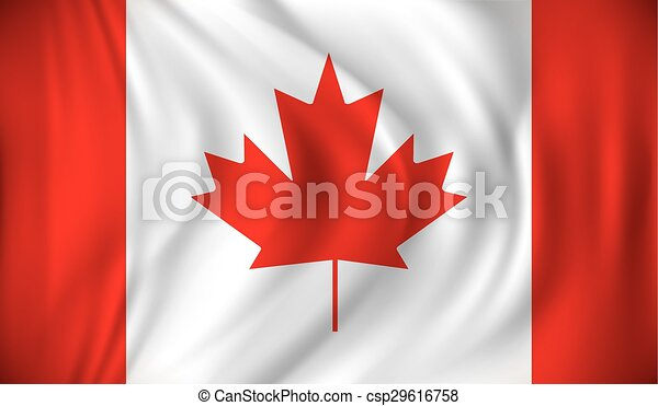 Flag of Canada - csp29616758