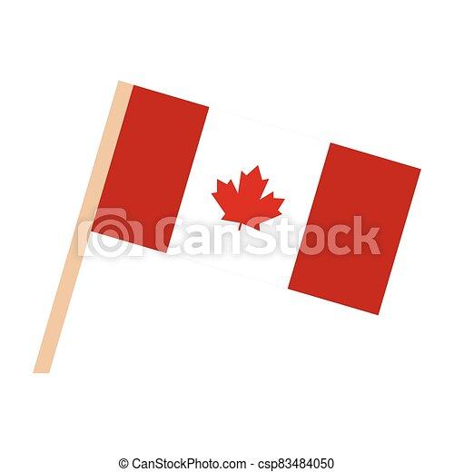 Flag of Canada - csp83484050