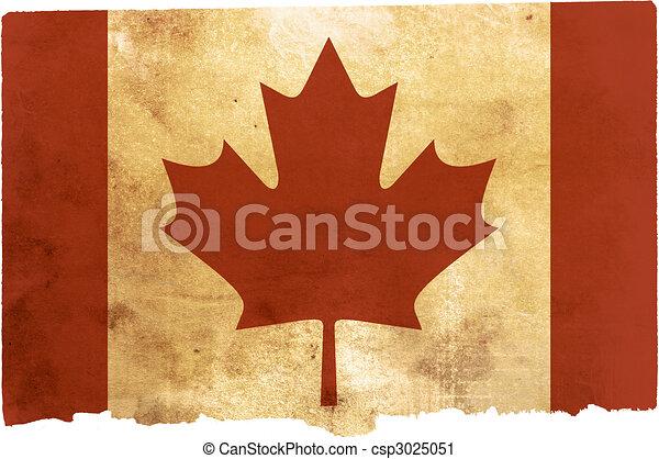 flag of Canada - csp3025051