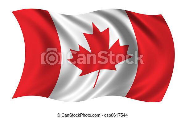 Flag of Canada - csp0617544