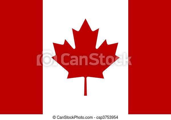 Flag of Canada - csp3753954