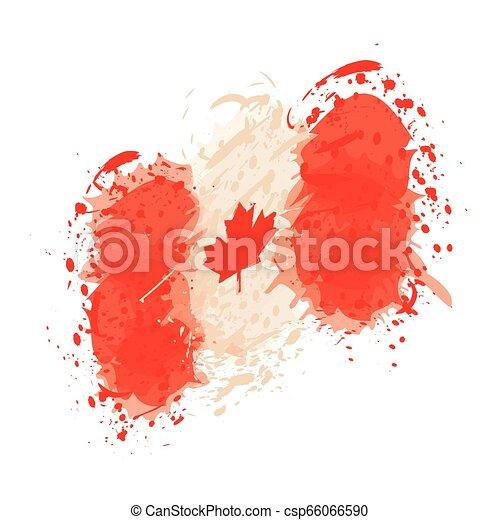flag of Canada - csp66066590