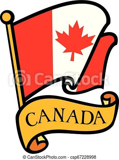 Flag of Canada - csp67228998