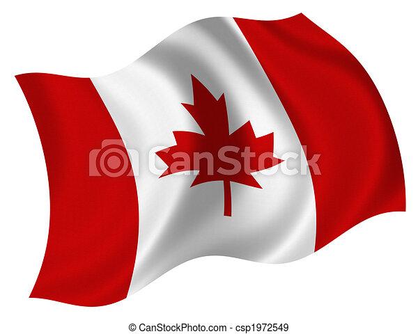 Flag of Canada - csp1972549
