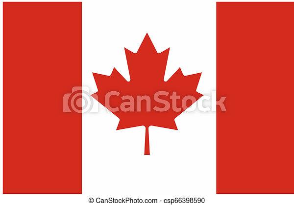 Flag of Canada - csp66398590