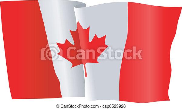 flag of Canada - csp6523928