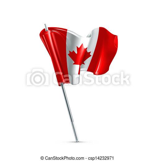 Flag of Canada - csp14232971