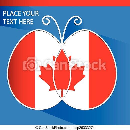 Flag of Canada - csp26333274