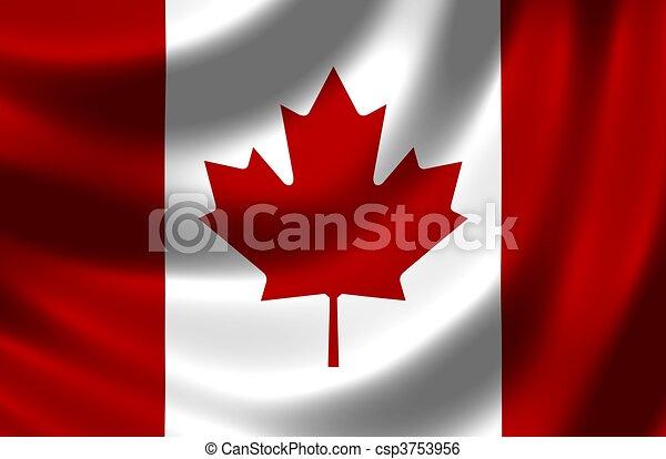 Flag of Canada - csp3753956