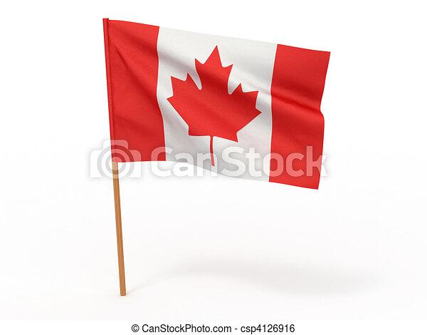 Flag of canada - csp4126916