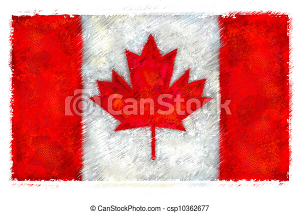 Flag of Canada - csp10362677