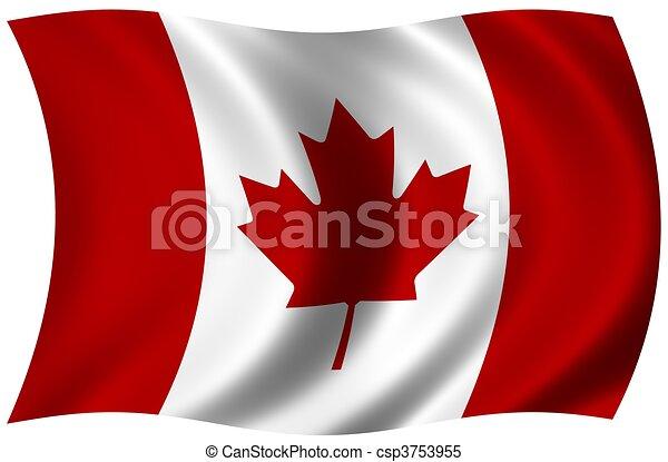 Flag of Canada - csp3753955