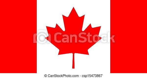 Flag of Canada - csp15473867