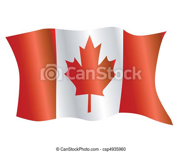 Flag of Canada - csp4935960
