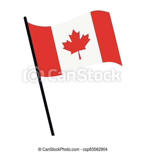 Flag of Canada - csp83562904