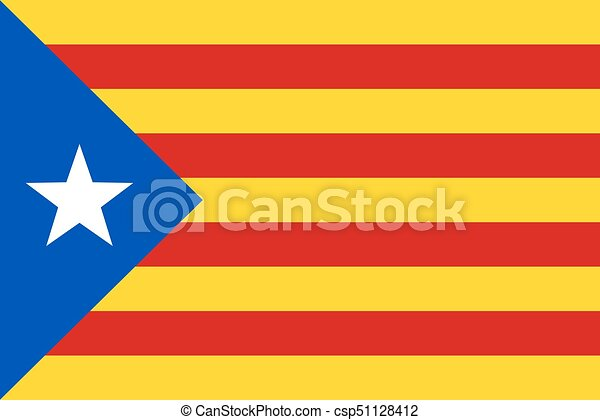 Flag Of Catalonia Unofficial Flag Of Catalan Lands Symbol Of The