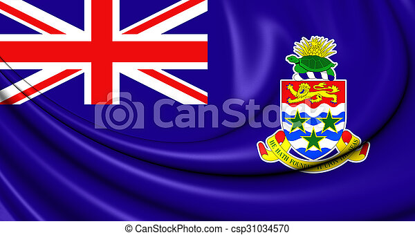 Flag of Cayman Islands - csp31034570