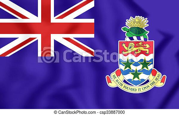 Flag of Cayman Islands - csp33887000