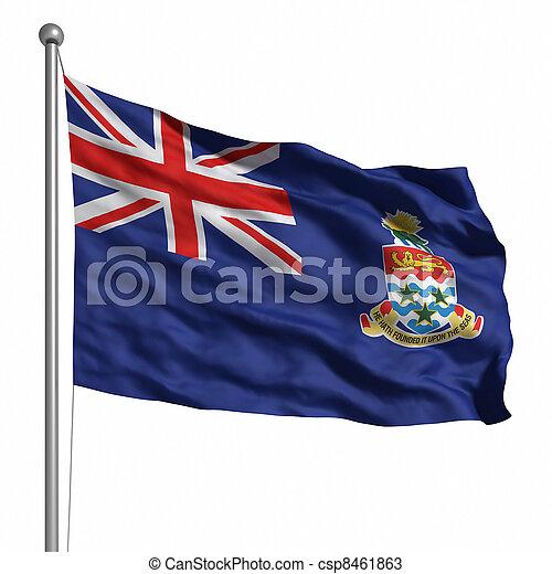 Flag of Cayman Islands - csp8461863