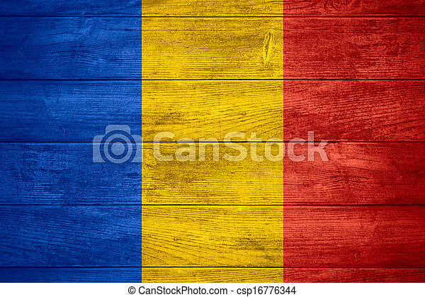 flag of Chad - csp16776344