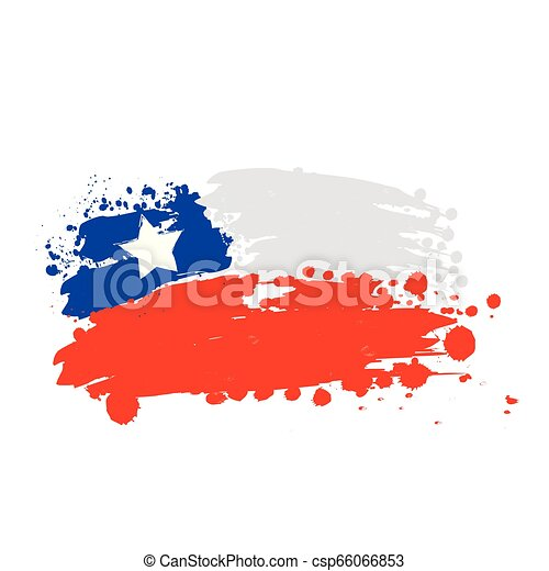 flag of Chile - csp66066853