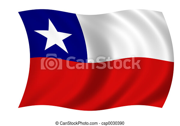 flag of chile - csp0030390