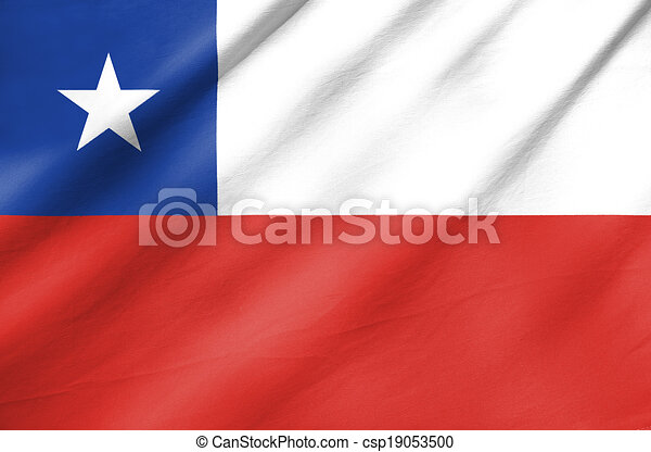 Flag of Chile - csp19053500