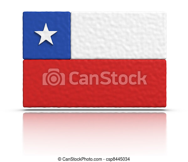 Flag of Chile - csp8445034