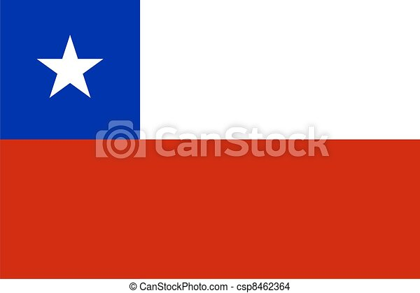flag of CHILE - csp8462364