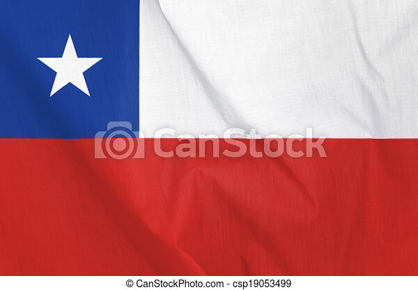 Flag of Chile - csp19053499