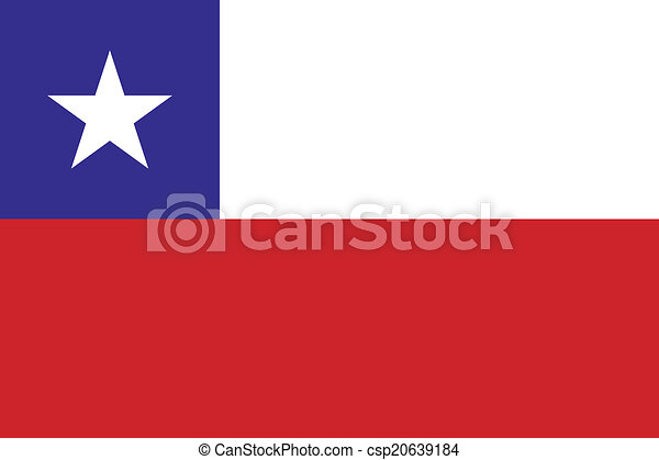 Flag of Chile - csp20639184