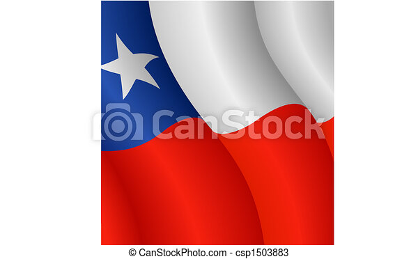 Flag of Chile - csp1503883