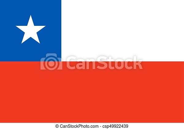 Flag of Chile - csp49922439