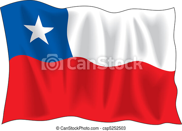 Flag of Chile - csp5252503