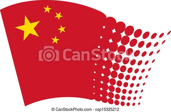 flag of china - csp15325212