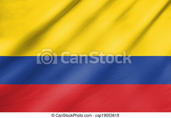 Flag of Colombia - csp19053618